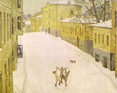 Попов Первый снег